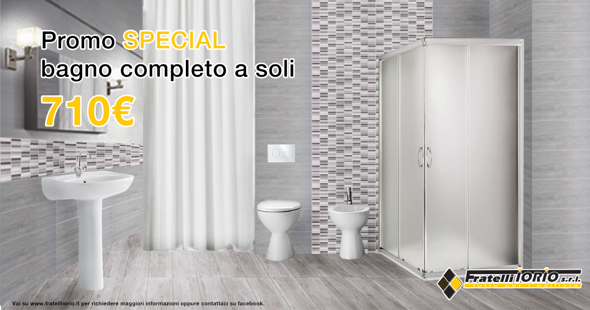Bagno Completo Offerte - Decorating Interior Design - govinda.us