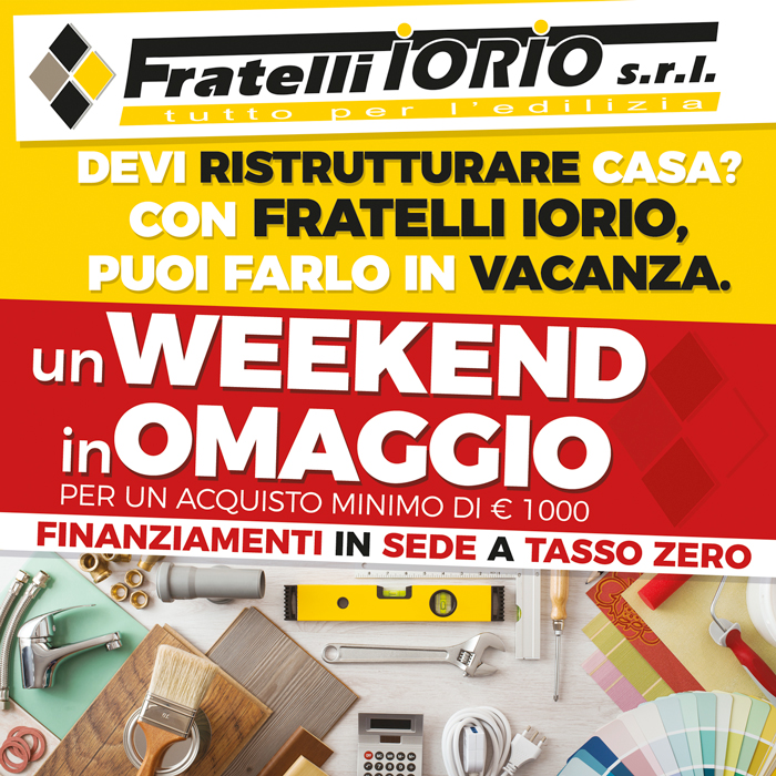 Promo Week end omaggio